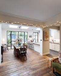 esstisch in einem wohnzimmer mit küche wohnideen einrichten