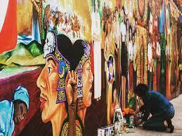 Chicano Park Murals Map by Ten Sweet Spots For San Diego Street Art