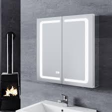 sonni led spiegelschrank aluminum spiegelschrank mit
