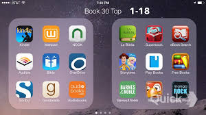 Review of Top Free 30 Apps under Books Category iPhone App