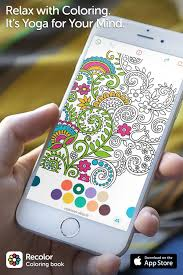 Recolor Is The 1 Coloring Book On Mobile Join Millions Of People Rediscovering