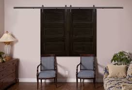 Open Espresso Barn Door - 3 Panel - Beige Walls - Bedroom | Window ... 11 Best Garage Doors Images On Pinterest Doors Garage Door Open Barn Stock Photo Image Of Retro Barrier Livestock Catchy Door Background Photo Of Bedroom Design Title Hinged Style Doorsbarn Wallbed Wallbeds N More Mfsamuel Finally Posting My Barn Doors With A Twist At The End Endearing 60 Inspiration Bifold Replace Your Laundry Pantry Or Closet Best 25 Farmhouse Tracks And Rails Ideas Hayloft North View With Dropped Down Espresso 3 Panel Beige Walls Window From Old Hdr Creme