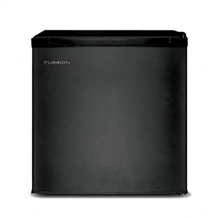 Lippert Components LIP424712 1.7 Cu ft. Furrion Mini Fridge - Matte Black