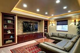 home theatre wall sconces basement home theater with recessed