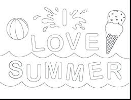 Free Printable Summer Coloring Pages For Adults Color Preschool Pictures Toddlers Medium Size