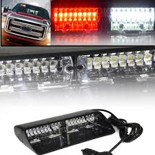 Red White 16 LED Strobe Light High Intensity LED Emergency Hazard ... 8 Led Amber Strobe Light Car Yellow Dash Emergency 3 Flashing Modes Led Magnetic Warning Beacon Design Wonderful Blue Lights Used Fire Brand New 2 Pcs Of Pack 6 1224v Super Bright High Low Profile Vehicle Mini Head Single Or Dual Staleca 4x Ultra Truck 12 Led 19 Flash Ford Offers 700 Msrp Factory On Every 2016 Fseries Watch For Trucks With Interior Soundoff Signal F150 Four Corner Kit 1517 88 88w Car Truck Beacon Work Light Bar Emergency Strobe Lights Amazoncom Yehard For Cars 12v Universal 12v 24 Power Long Bar Red White Flash Lamp