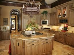warm kitchen paint colors stained wooden kitchen island wooden