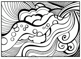 Coloring Pages Teenagers Difficult Mermaid