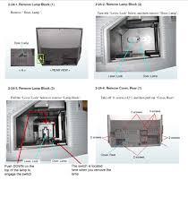 Sony Wega Lamp Problems by Sony Bravia Lcd Rear Projection Kf 42e200a Will Not Start Just