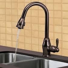 Pegasus Kitchen Faucets Parts Pegasus Newbury Fp0a5013rbp Single Handle Pull Kitchen Faucet