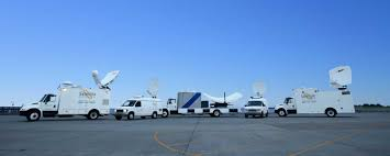 Satellite Center Pmtv Sallite Uplink Trucks For Broadcast Live Streaming Trucks At The Coverage Of Timothy Mcveighs Exec Flickr Side Loader New Way The Best To Transmit Data In Really Wired 3d Rendering On Road With Path Traced By Stock Espn Gameday Truck Was Parked Nearby 2012 Us Presidential Primary Covering Coverage Tv News Broadcast Live With Antenna And Sallite Tv Truck Parabolic Frm N24 Channel Media Descend On Jpl Nasas Mars Exploration Program Rear View Of White Television Multiple