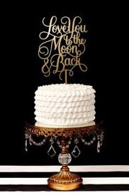 Monogram Wedding Cake Topper Personalized with Vine Font Initials
