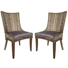 Amazon.com - A Line Furniture Tropical Design Rattan Woven Wing ... Arden Selections 21 In X 44 Elea Tropical Outdoor Ding Chair White Area With Aqua Patterned Chairs Cool Things Ashley Fniture Room Set Ding Room Ansprechend Modern Patio Sets Costco Round Bar Decorating Ideas Trend Garden Houseplants And Stripes The Care A Natural Upgrade 25 Wooden Tables To Brighten Your Cheap Inspirational Leikela Eames Style Chairs Soft Pastel Colours Fresh Design Blog Shop Floral Pattern Parson With Nailhead Trim Mainstays Cushion Red Walmartcom