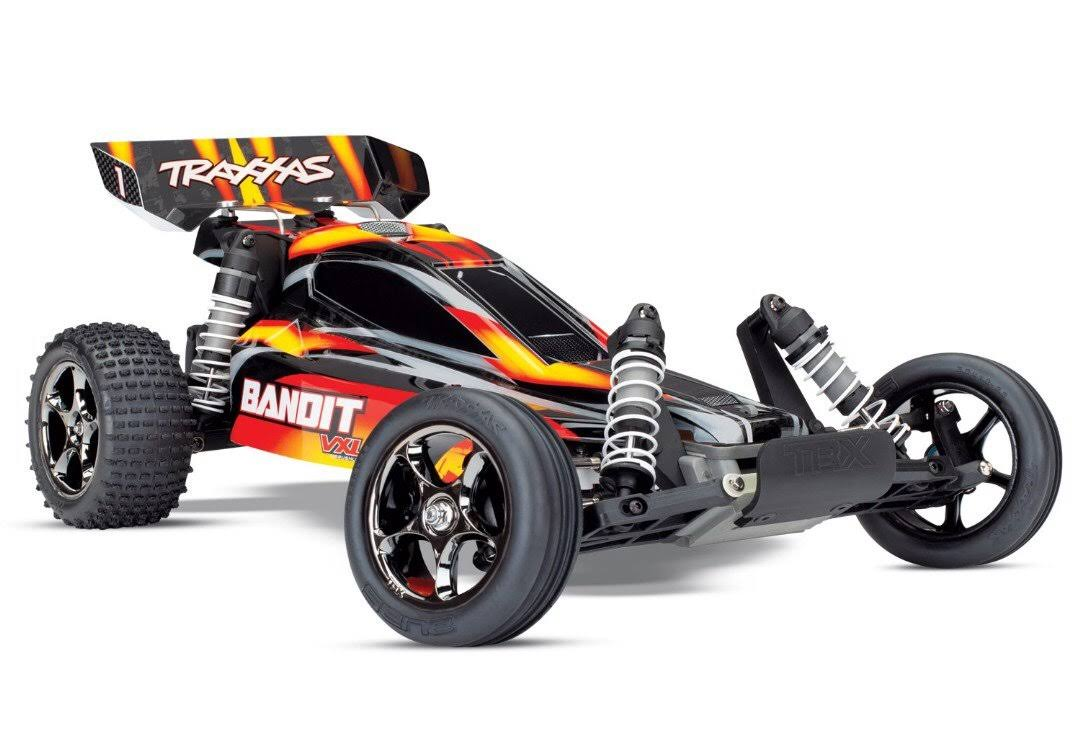 Traxxas 24076-4 Bandit VXL TSM TQi Brushless Buggy RTR Red