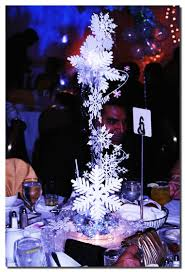 Winter Wonderland Wedding Centerpieces Ideas