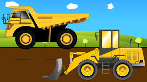 Top Pictures Of Construction Trucks Simplified Vehicles For Children ...