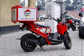 Delivery Scooter Pizza Hut