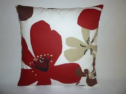 Red And Taupe Living Room Ideas by Cushion Pillow Cover Red Brown Black Taupe White Designer