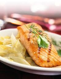 cuisiner pavé de saumon poele recette nouvel an entrée et plat