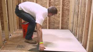 Hardie Tile Backer Board by Installing Hardiebacker Cement Board Series Floor Install