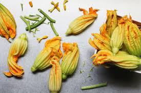 Fried Pumpkin Blossoms by Squash Blossom Soup Crema De Flor De Calabaza