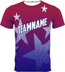 sublimated custom shirts no minimums