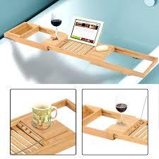 Teak Bathtub Caddy Canada by Tray Caddy Alitary Com