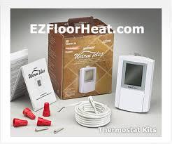 Warm Tiles Easy Heat Thermostat by Floor Heat Hydronic Under Floor Heating Easy Radiant Heated Floors