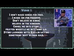 Chance The Rapper Blessings Lyrics Coloring Book