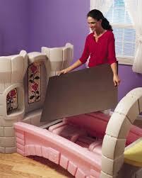 amazon com step2 dream castle convertible bed toys games