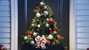 Martha Stewart Pre Lit Christmas Tree Instructions by Video How To Tree Shaped Wreath Martha Stewart
