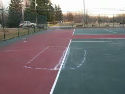 basketball multi sport and tennis court resurfacing flex court