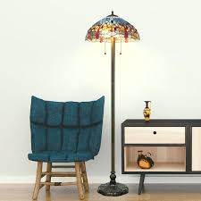Tiffany Style Glass Torchiere Floor Lamp by Tiffany Style Torchiere Floor Lamps U2013 Bailericead Com