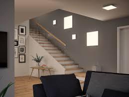 wallceilingvelora led panel dim 225x 225mm 12w weiß matt 230v metall