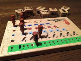 Roll Through The Ages Peg Board