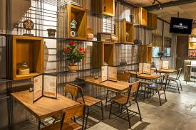 Rustic Restaurant Design For Monokrom Coffee Bar By VIBE Studio In Bali Indonesia
