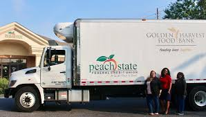 Peach State FCU Supports Golden Harvest Food Bank With Food And ...
