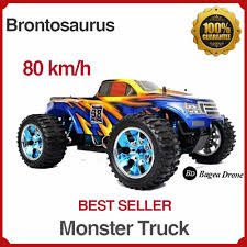 Jual Rc Offroad 4x4 Monster Truck Brontosaurus 4WD Top Speed 80 Kmh ...