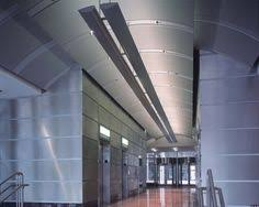 Tectum Concealed Corridor Ceiling Panels by Tectum Hanging Baffles Photo Lapd Firing Range Los Angeles Ca