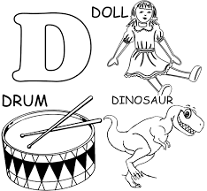Fresh Letter D Coloring Pages 51 For Your Adults With