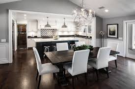 Open Concept Floor Plan Fresh Concept Living Room Dining Kitchen