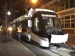 100 Tow Truck Kansas City LOOK Streetcar Takes Its First Ride Through River