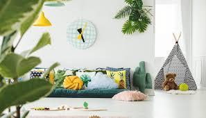 kinderzimmer idee großes sitzkissen als sofa deko