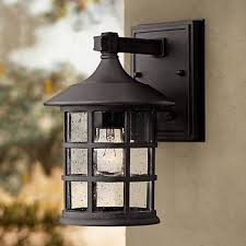 hinkley freeport black 9 1 4 high outdoor wall light w9804