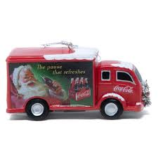 Coca-Cola Truck W/Wreath Ornament | Coke Store