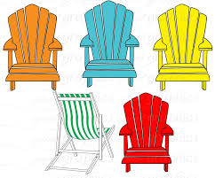 Adirondack Chair Vector