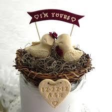 Custom Rustic Vintage Wedding Cake Topper Toppers 149