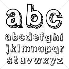 Simple Hand Drawn Font