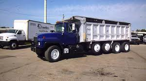 100 Mack Dump Trucks For Sale 1996 RD688S Quad Truck LaPine Truck S YouTube