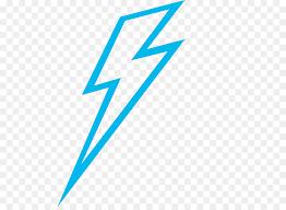Lightning Blue Clip Art